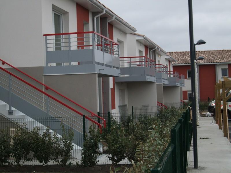 Balcons résidence Astelia