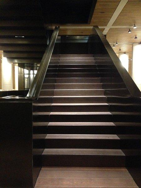 Escalier Chateau Pedesclaux