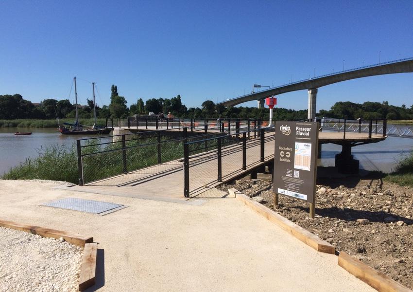 Pont d'accostage La Rochelle 1